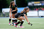 GER - Mannheim, Germany, May 25: During the U16 Girls match between The Netherlands (orange) and Germany (black) during the international witsun tournament on May 25, 2015 at Mannheimer HC in Mannheim, Germany. Final score 1-1 (1-0). (Photo by Dirk Markgraf / www.265-images.com) *** Local caption *** Inma Sophia Hofmeister #11 of Germany