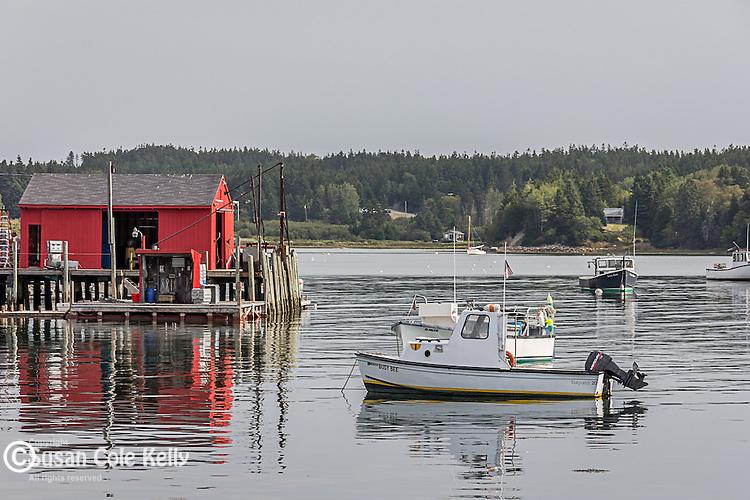 The Fishermens Co-op in Swan's Island, Maine, USA