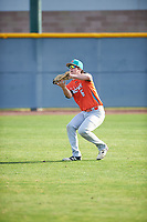 Zachary Morris (6) of St. Joseph High School in Santa Maria, California during the Baseball Factory All-America Pre-Season Tournament, powered by Under Armour, on January 14, 2018 at Sloan Park Complex in Mesa, Arizona.  (Zachary Lucy/Four Seam Images)
