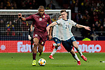 Argentina's Juan Foyth and Venezuela's Jose Salomon Rondon  during International Adidas Cup match between Argentina and Venezuela at Wanda Metropolitano Stadium in Madrid, Spain. March 22, 2019. (ALTERPHOTOS/A. Perez Meca)