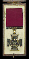 BNPS.co.uk (01202) 558833. <br /> Pic: DixNoonanWebb/BNPS<br /> <br /> Pictured: The Victoria Cross awarded to Private James Towers. <br /> <br /> The Victoria Cross awarded to a soldier who volunteered for a suicidal mission after seeing five comrades killed attempting it has today sold for £248,000.<br /> <br /> Private James Towers bravely stepped forward as the sixth man to dash out in front of enemy machine gun posts and try to get a vital message to a cut-off platoon 150 yards away.<br /> <br /> He did this despite witnessing the five previous runners - including his best friend - get cut to pieces.<br /> <br /> Pte Towers, whose medals were sold with Dix Noonan Webb, miraculously survived the mission at Mericourt on the Western Front in the final months of World War One.