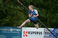 FIERLJEPPEN: WINSUM: 10-07-2021, 1e klasse wedstrijden, ©foto Martin de Jong