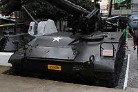 Ho Chi Minh city<br /> , Vietnam - 2007 File Photo -<br /> <br /> Captured US Army Tank on display at war museum.  <br /> <br /> <br /> <br /> photo : James Wong-  Images Distribution