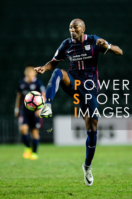 FC Kitchee Forward Alessandro Ferreira in action during the AFC Champions League 2017 Preliminary Stage match between  Kitchee SC (HKG) vs Hanoi FC (VIE) at the Hong Kong Stadium on 25 January 2017 in Hong Kong, Hong Kong. Photo by Marcio Rodrigo Machado/Power Sport Images