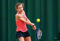 Wateringen, The Netherlands, March 16, 2018,  De Rhijenhof , NOJK 14/18 years, Nat. Junior Tennis Champ. Isis Van Den Broek (NED)<br /> Photo: www.tennisimages.com/Henk Koster