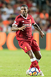 Liverpool FC midfielder Georginio Wijnaldum in action during the Premier League Asia Trophy match between Liverpool FC and Leicester City FC at Hong Kong Stadium on 22 July 2017, in Hong Kong, China. Photo by Weixiang Lim / Power Sport Images