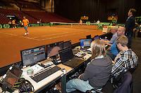 11-sept.-2013,Netherlands, Groningen,  Martini Plaza, Tennis, DavisCup Netherlands-Austria,  <br /> Photo: Henk Koster