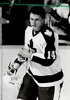 1982 FILE PHOTO - ARCHIVES -<br /> <br /> New Leaf Miroslav Frycer; 22; the former centre-winger with the Quebec Nordiques who defected from Czechoslovakia last September; set up three goals in the Leafs 7-6 loss to the Chicago Black Hawks.<br /> <br /> PHOTO :  Jeff Goode - Toronto Star Archives - AQP