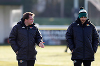 Ealing Trailfinders director of rugby, Ben Ward during the Championship Cup Quarter Final match between Ealing Trailfinders and Nottingham Rugby at Castle Bar , West Ealing , England  on 2 February 2019. Photo by Carlton Myrie / PRiME Media Images.