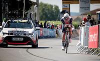 Jasper Stuyven (BEL/Trek-Segafredo)<br /> <br /> Stage 20 (ITT) from Libourne to Saint-Émilion (30.8km)<br /> 108th Tour de France 2021 (2.UWT)<br /> <br /> ©kramon