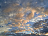 Clouds over Wilsonville, or.sunset