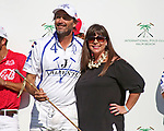 WELLINGTON, FL - MARCH 26:  Adolfo Cambiaso is Most Valuable Player of the game, as Valiente wins the 2nd Jewel of the Triple Crown in the 26 goal USPA Gold Cup Final, defeating Coca Cola 9-6, at the International Polo Club, Palm Beach on March 26, 2017 in Wellington, Florida. (Photo by Liz Lamont/Eclipse Sportswire/Getty Images)