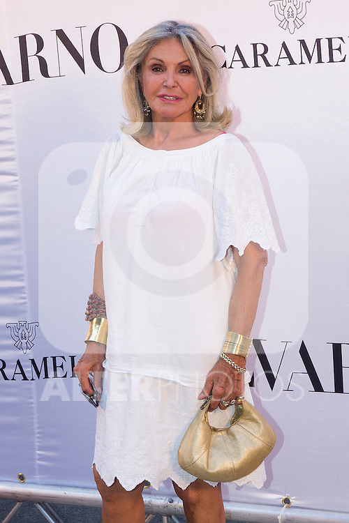 03.09.2012. Celebrities attending the Alvarno fashion show during the OFF Mercedes-Benz Fashion Week Madrid Spring/Summer 2013 at Museo Lazaro Galdiano. In the image Beatriz de Orleans (Alterphotos/Marta Gonzalez)