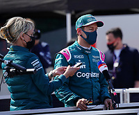 1st May 2021; Algarve International Circuit, in Portimao, Portugal; F1 Grand Prix of Portugal, qualification sessions;  Sebastian Vettel DEU 5, Aston Martin Cognizant Formula One Team