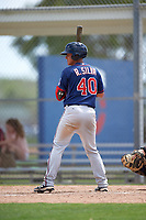 Minnesota Twins Rainis Silva (40) during a minor league Spring Training intrasquad game on March 15, 2016 at CenturyLink Sports Complex in Fort Myers, Florida.  (Mike Janes/Four Seam Images)