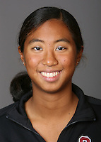 STANFORD, CA - OCTOBER 1: Gayle Lee of the Stanford Cardinal synchronized swimming team poses for a headshot on October 1, 2008 in Stanford, California.