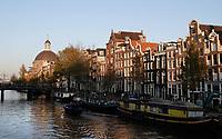 Nederland  Amsterdam  2020.  Singel. Koepelkerk.  Foto : ANP/ HH / Berlinda van Dam