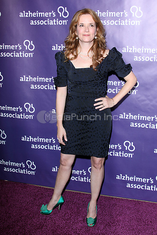 Lea Thompson at the 19th Annual 'A Night at Sardi's' benefitting the Alzheimer's Association in Beverly Hills, California. March 16, 2011 © MPI24 / MediaPunch Inc.