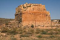 Qasr Douga, near Tarhouna, Libya - Punic (Phoenician) Mausoleum, 1st. Century B.C.