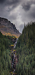 Waterfall along South Mineral Creek, San Juan Mountains, Colorado
