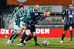 13.01.2021, xtgx, Fussball 3. Liga, VfB Luebeck - SV Waldhof Mannheim emspor, v.l. Marvin Thiel (Luebeck, 13), Dominik Martinovic (Mannheim, 11) <br /> <br /> (DFL/DFB REGULATIONS PROHIBIT ANY USE OF PHOTOGRAPHS as IMAGE SEQUENCES and/or QUASI-VIDEO)<br /> <br /> Foto © PIX-Sportfotos *** Foto ist honorarpflichtig! *** Auf Anfrage in hoeherer Qualitaet/Aufloesung. Belegexemplar erbeten. Veroeffentlichung ausschliesslich fuer journalistisch-publizistische Zwecke. For editorial use only.