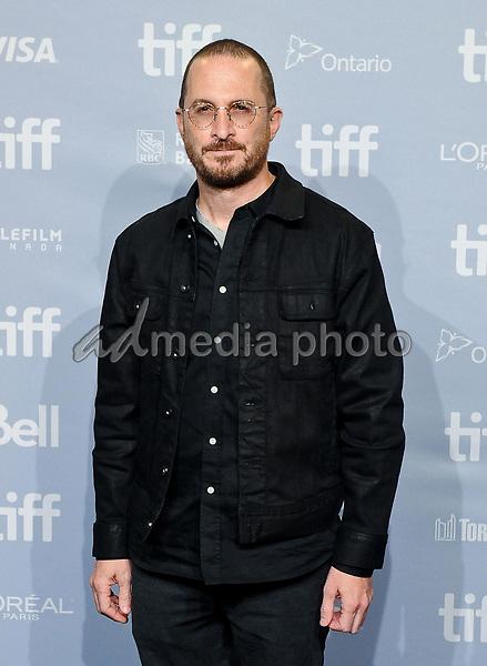 "10 September 2017 - Toronto, Ontario Canada - Darren Aronofsky. 2017 Toronto International Film Festival - ""mother!"" Press Conference held at TIFF Bell Lightbox. Photo Credit: Brent Perniac/AdMedia"