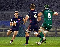13th March 2021; Galway Sportsgrounds, Galway, Connacht, Ireland; Guinness Pro 14 Rugby, Connacht versus Edinburgh; Damien Hoyland starts an attacking run for Edinburgh