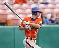 October 25, 2009: Mike Freeman of the Clemson Tigers in an intra-squad Orange and Purple scrimmage game at the end of fall practice at Doug Kingsmore Stadium in Clemson, S.C. Photo by: Tom Priddy/Four Seam Images
