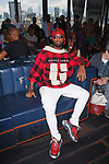 Guest attends the Romeo Hunte Spring Summer 2019 collection runway show in PH-D at Dream Downtown New York City on July 11, 2018; during New York Fashion Week: Men's Spring Summer 2019.