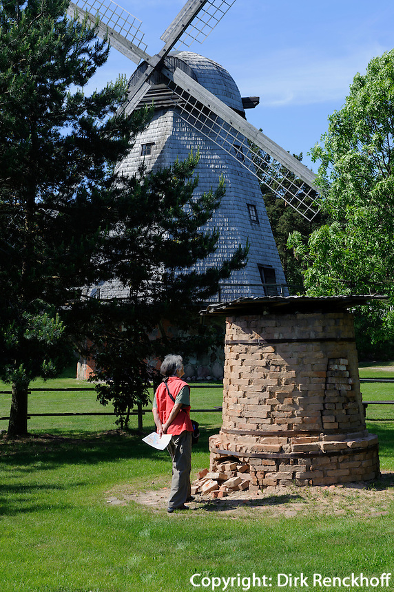 Freilichtmuseum in Ventspils, Lettland, Europa