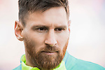 Lionel Andres Messi of FC Barcelona prior to the La Liga match between Atletico de Madrid and FC Barcelona at the Santiago Bernabeu Stadium on 26 February 2017 in Madrid, Spain. Photo by Diego Gonzalez Souto / Power Sport Images
