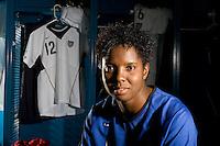 Briana Scurry, USWNT Portraits, Carson, California, 2006.