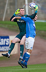 St Johnstone v Ross County....SPFL Development League...19.08.14<br /> Chris Kane and James MacLeod<br /> Picture by Graeme Hart.<br /> Copyright Perthshire Picture Agency<br /> Tel: 01738 623350  Mobile: 07990 594431