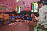 Indian school in Nainanar Chhattisgarh India