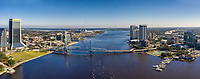St. Johns River  Jacksonville, FL.  Geenspace Wells Fargo TIAA Bank Bank of America Humana VystarChamber of Commerce Visit Jacksonville  December 2020