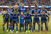 Santa Clara, CA - September 10, 2016: The San Jose Earthquakes tied 1-1 with Seattle Sounders FC at the Avaya Stadium in Santa Clara.