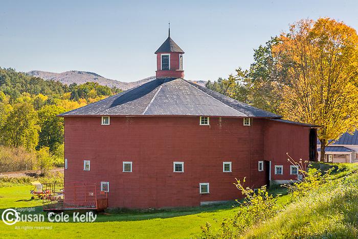 Autumn farm view, Barnet, VT