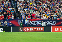 NASHVILLE, TN - SEPTEMBER 5: Chipotle signage during a game between Canada and USMNT at Nissan Stadium on September 5, 2021 in Nashville, Tennessee.
