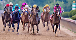 May 18, 2019 : War of Will #1, ridden by Tyler Gaffalione, wins the Preakness Stakes on Preakness Day at Pimlico Race Course in Baltimore, Maryland. Carlos Calo/Eclipse Sportswire/CSM