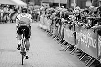Dylan Groenewegen (NED/Lotto Jumbo NL) on his way to the team presentation in Mol<br /> <br /> 105th Scheldeprijs 2017 (1.HC)<br /> 1day race: Mol > Schoten 200km