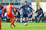 Waldhofs Rafael Garcia (Nr.16) am Ball beim Spiel in der 3. Liga, SV Waldhof Mannheim - FSV Zwickau.<br /> <br /> Foto © PIX-Sportfotos *** Foto ist honorarpflichtig! *** Auf Anfrage in hoeherer Qualitaet/Aufloesung. Belegexemplar erbeten. Veroeffentlichung ausschliesslich fuer journalistisch-publizistische Zwecke. For editorial use only. DFL regulations prohibit any use of photographs as image sequences and/or quasi-video.