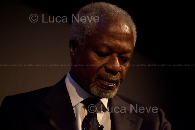 """""""The Peace Maker"""" - Kofi Annan.<br /> <br /> For more pictures on this event click here: <a href= """" http://bit.ly/O9Cr3W""""> http://bit.ly/O9Cr3W</a>"""