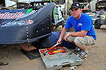 Feb 11, 2009; 4:02:17 PM; Barberville, FL, USA; UMP DIRTcar Racing Series for the 38th Annual ALLTEL DIRTcar Nationals by UNOH at Volusia Speedway Park.  Mandatory Credit: (thesportswire.net)