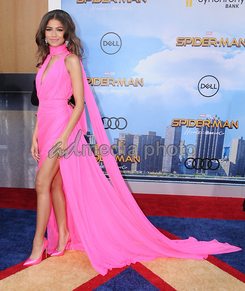 """28 June 2017 - Hollywood, California - Zendaya. """"Spider-Man: Homecoming"""" Los Angeles Premiere held at the TCL Chinese Theatre in Hollywood. Photo Credit: Birdie Thompson/AdMedia"""