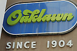 Oaklawn sign at the entrance of Oaklawn Park in Hot Springs, Arkansas on February 17, 2014. (Credit Image: © Justin Manning/Eclipse/ZUMAPRESS.com)