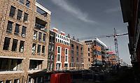 Nederland  Amsterdam  2020.  Nieuwbouw in de Houthaven.   Foto : ANP/ HH / Berlinda van Dam