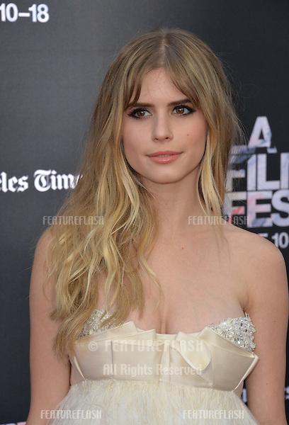 "Carlson Young at the LA Film Festival premiere of MTV's ""Scream"" at the Regal Cinema LA Live. <br /> June 14, 2015  Los Angeles, CA<br /> Picture: Paul Smith / Featureflash"