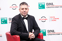 Russian film director Evgeny Afineevsky  poses for photographers during the Photocall of the 15th edition of Rome film Fest for presentation of the film 'Francesco'. <br /> Rome (Italy), October 21st 2020<br /> Photo Pool Festa del Cinema /  Insidefoto