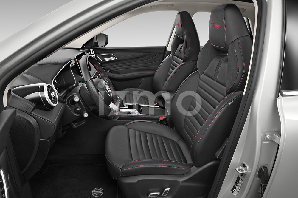 Front seat view of 2021 Mg EHS Luxury 5 Door SUV Front Seat  car photos