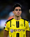 Borussia Dortmund defender Marc Bartra during the match against Manchester City FC during their 2016 International Champions Cup China match at the Shenzhen Stadium on 28 July 2016 in Shenzhen, China. Photo by Marcio Machado / Power Sport Images